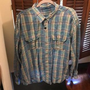 Lucky Brand Irish Linen Oxford- XXL